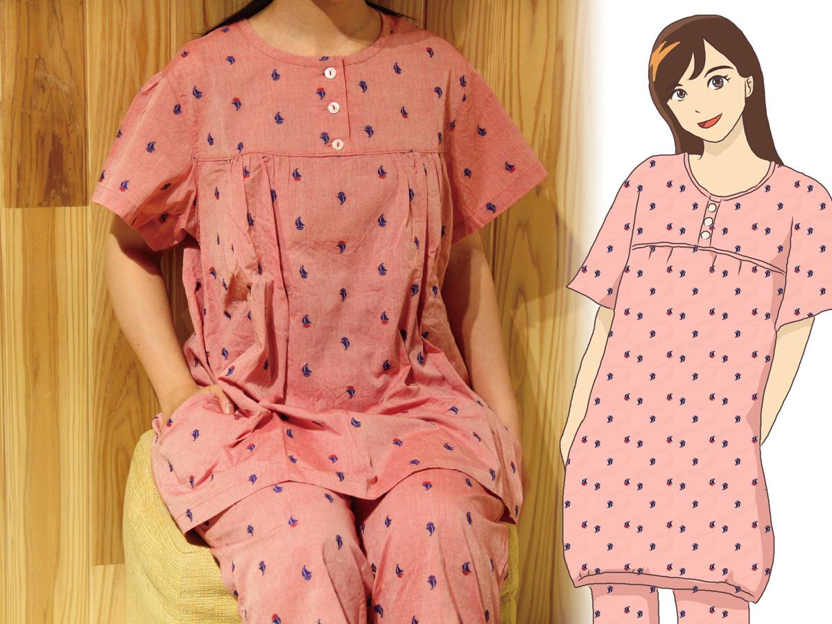 部屋着としても使いたくなるかわいいパジャマばかりです。