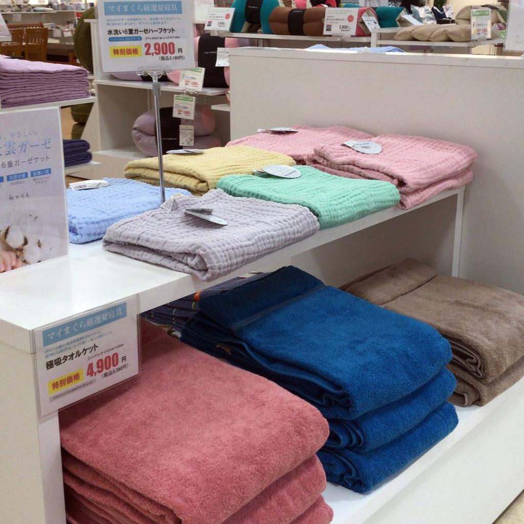 【おのだサンパーク店】冷感タイプの寝具で快適な眠りをgetし、暑い夏を乗り越えましょう